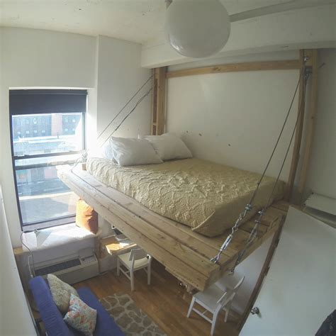 suspended bed hanging bed loft bed suspended bed floating bed