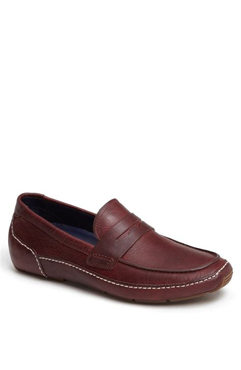 cole haan driving shoes cole haan air mitchell driving shoe in purple for