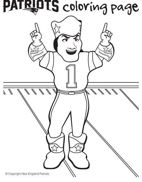 new england patriots coloring pages az coloring pages