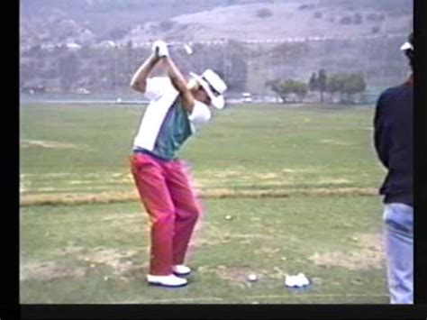 greg norman swing greg norman perfect iron jan 91 slo motion by carl welty