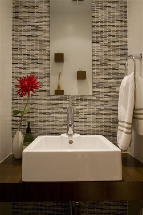 powder room tile ideas tiles canadianhomeflooring com
