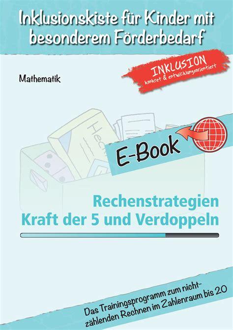 Image Processing10 Paket 3 Ebook inklusionskiste paket rechenstrategien kraft der 5 und verdoppeln ebook