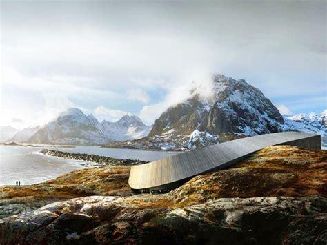 A Frame Designs Sn 248 Hetta Unveils Serpentine Lofoten Opera Hotel For A