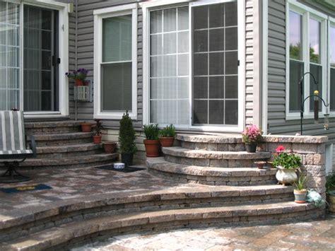 Patio Door Steps Steps From Patio Door Patios Patios Doors And Brick Steps
