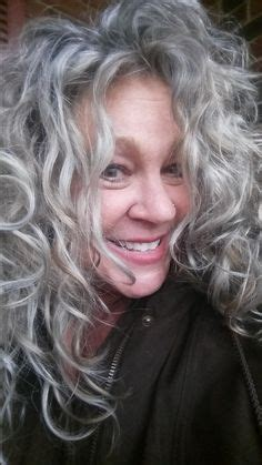 agood perm on fine salt and pepper hair sophia guillemin curly modern long bob beauty