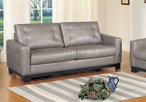 gray leather loveseat corey sofa in grey bonded leather w optional loveseat chair