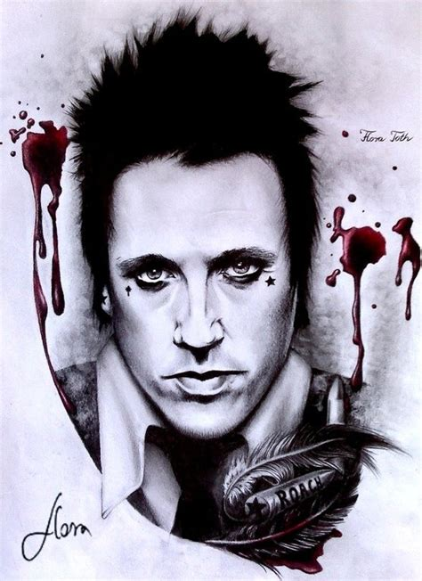 jacoby shaddix papa roach drawing singers pinterest