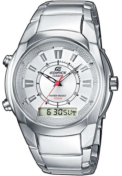 Casio Edifice Efa 100 Silver s watches solid stainless steel casio edifice silver
