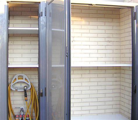 armario para terraza exterior armarios a medida de aluminio para terrazas o interiores