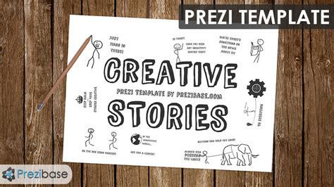 creative stories prezi template prezibase