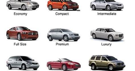 Europcar Car Types Uk by Car Rental Car Rental Groups Explained