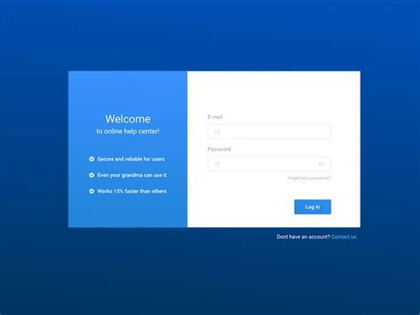 html design of login page sign in page design www pixshark com images galleries