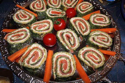 kaltes buffet anrichten kalte vorspeisen buffet rezepte chefkoch de