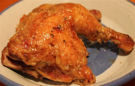 chicken quarters with roasted garlic sauce fresh easy