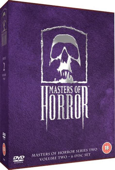 hear me breaking the series volume 2 books masters of horror series 2 vol 2 dvd zavvi