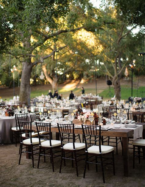 outdoor wedding reception table reception layout archives weddings romantique