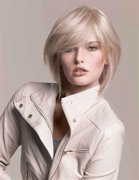 10 Ash Blonde Bob   Short Hairstyles 2016   2017   Most