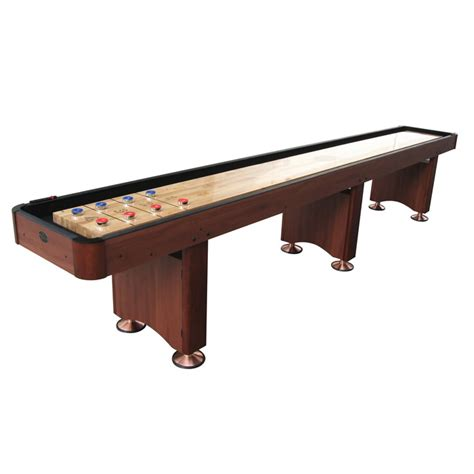 playcraft woodbridge 14 shuffleboard table cherry