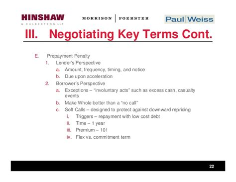 Loan Negotiation Letter commitment letters in commercial loans borrower and lender strategies
