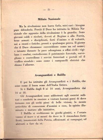 libri testo la repubblica della carnia gli ideali fascisti nei libri