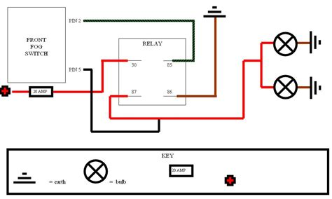 3 pin relay wiring diagram horn get free image about