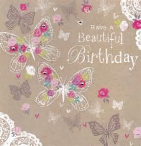 beautiful birthday butterflies birthday card