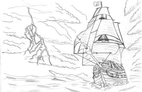 pirate ship by dejuro kans on deviantart