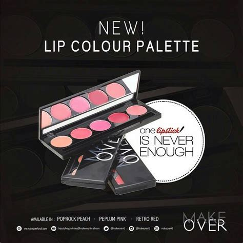 Diskon Make Lip Color Palette jual beli make lip colour palette baru jual beli