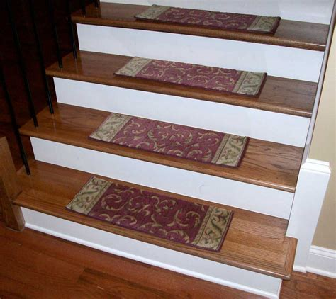 stair rug treads carpet treads for hardwood stairs pictures to pin on pinsdaddy