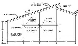 Free Pole Barn Plans Blueprints How To Build A Pole Barn Plans For Free Online