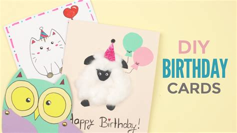 Kawaii Birthday Card Ideas