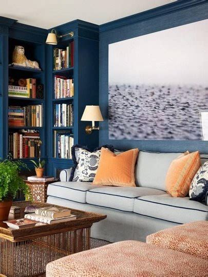 orange and blue room design trends saturated paint colors heather zerah