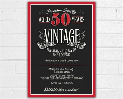 the dreaded invite how i took back at my delusional family books your 50 year with a vintage themed birthday