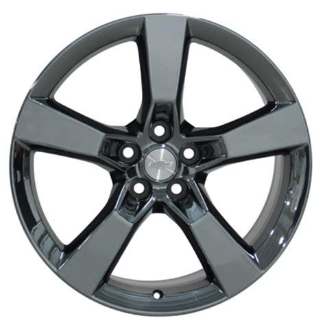 camaro black chrome wheels chevrolet camaro ss oem wheels black chrome 20x9 set