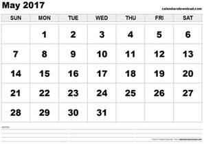 free may calendar template may 2017 calendar printable template usa holidays
