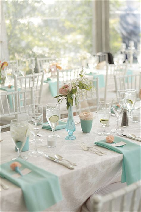 Ideas For Turquoise Table Ls Design Noted Finestationery Damask And Aqua Wedding