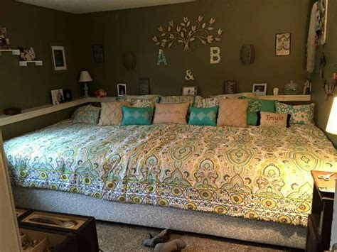 large bed my husband is amazing i suggest a crazy idea that he is
