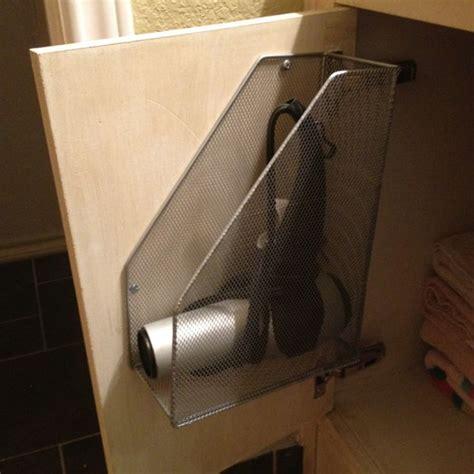 hair dryer in bathtub mythbusters 25 best ideas about hair dryer storage on pinterest