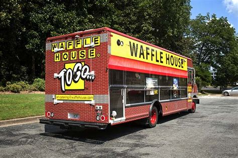 waffle house atlanta waffle house launches new food truck focused on disaster relief atlanta magazine