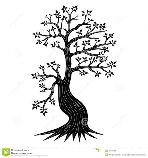 trees silhouettes stock illustration image of color 43384093 decorative tree silhouette stock vector image of green 70163256