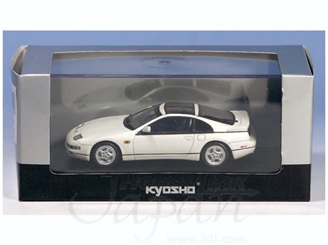 fairlady z white 1 43 nissan fairlady z 300zx 1989 cz32 white by kyosho