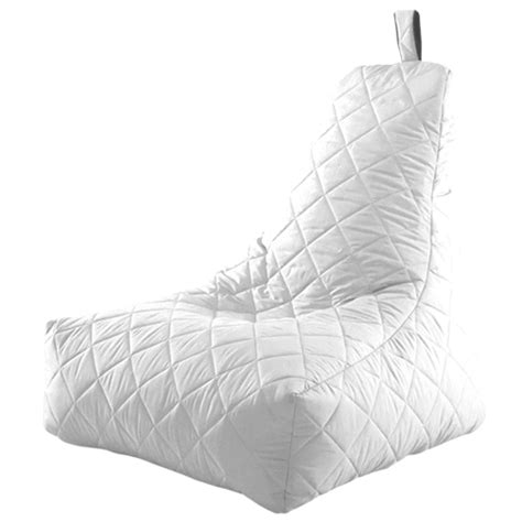 water resistant bean bag chairs white bean bag chair quilted recliner water resistant