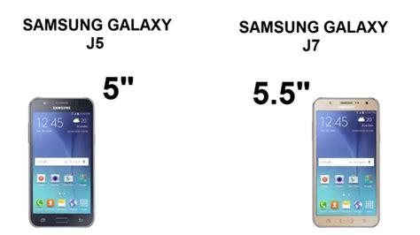 Samsung J5 Or J7 samsung j5 and j7 comparison