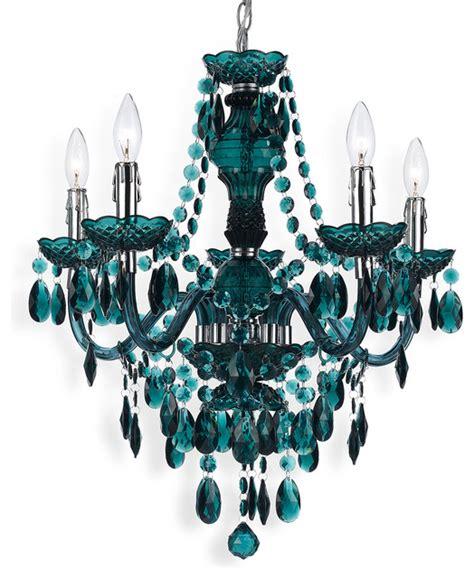 Green Chandelier Lighting Blue Green Global Bazaar Bohemian 5 Light Beaded Swag Chandelier Contemporary Chandeliers