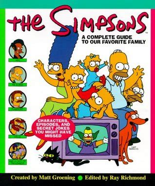 Book Episodes the simpsons a complete guide to our favorite family by