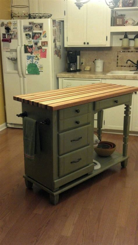 Diy Kitchen Island On Wheels   WoodWorking Projects & Plans