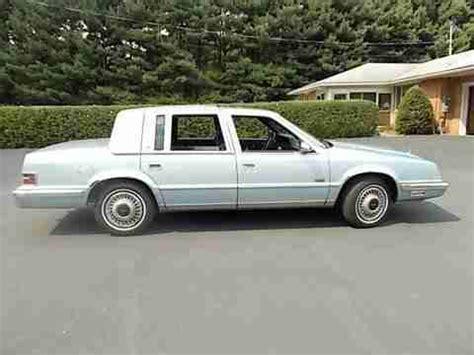 buy used 1993 chrysler imperial base sedan 4 door 3 8l in woodbridge virginia united states find used 1993 chrysler imperial base sedan 4 door 3 8l in mercer pennsylvania united states