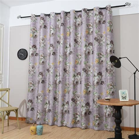 floral blackout curtains aliexpress com buy top finel 2016 luxury floral shade