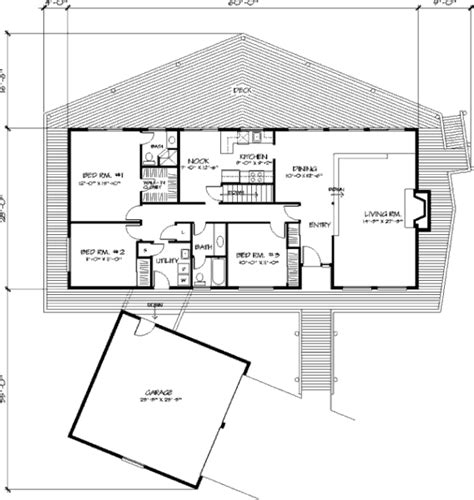 patio floor plan wonderful deck house plan