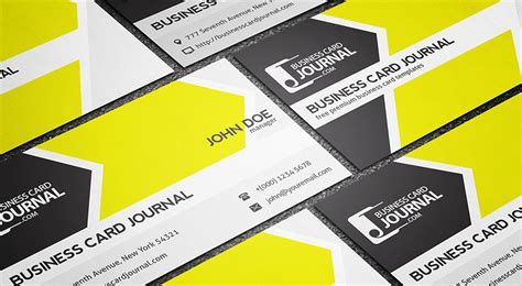 Cool Cards Template by Free Cool Refreshing Business Card Template